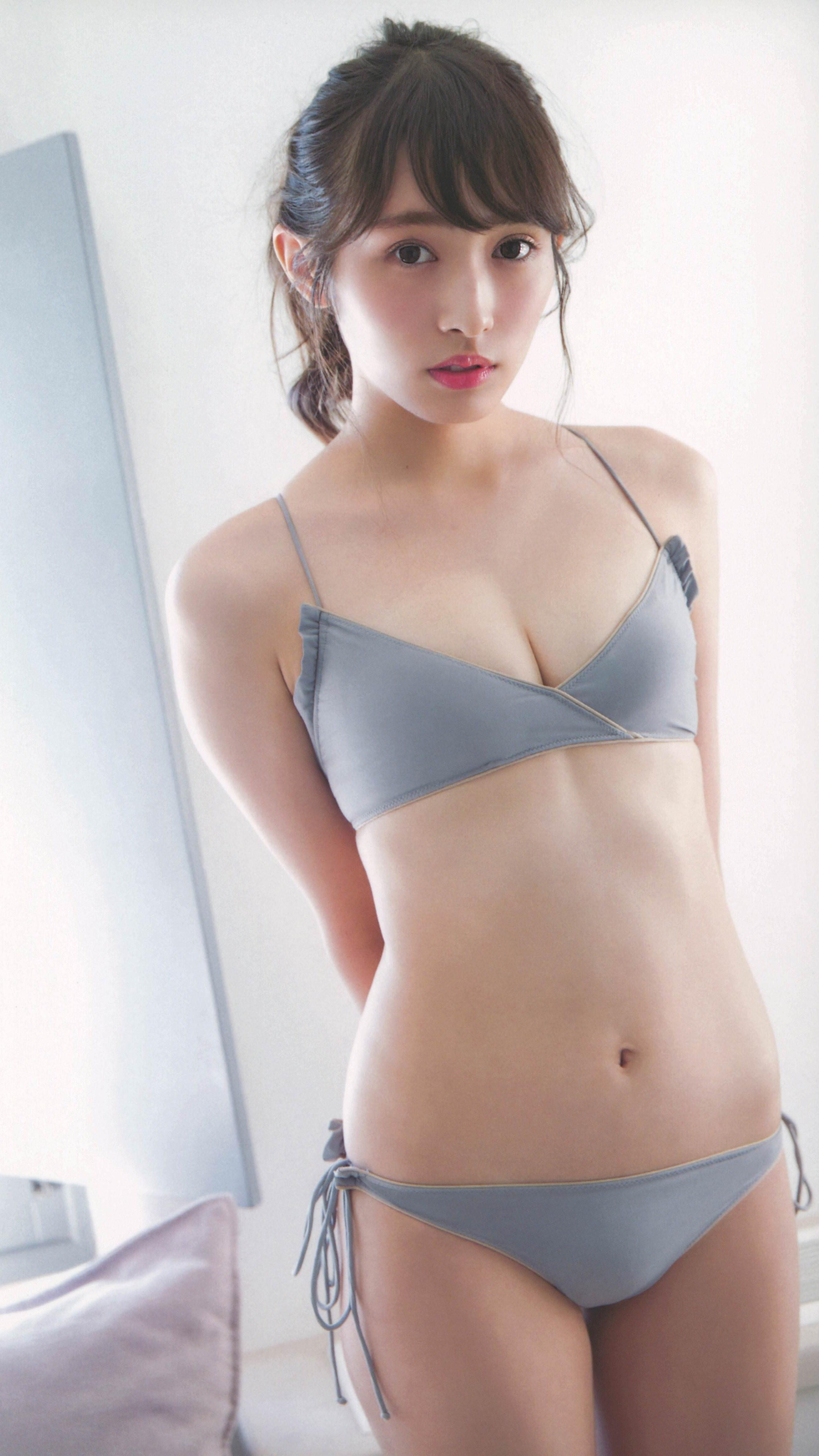渡辺梨加(欅坂46)高画質水着画像